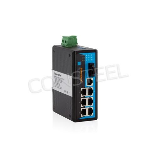 Switch przemysłowy 7x Ethernet + 1x 100Base-FX - IES318-1F