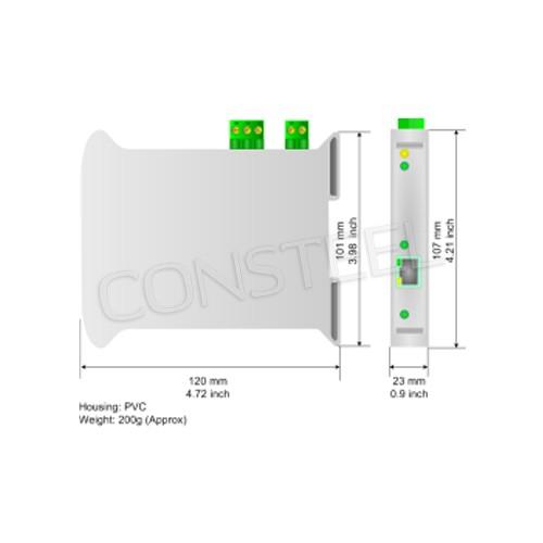 Przemysłowy konwerter DeviceNet na SNMP - HD67161-A1