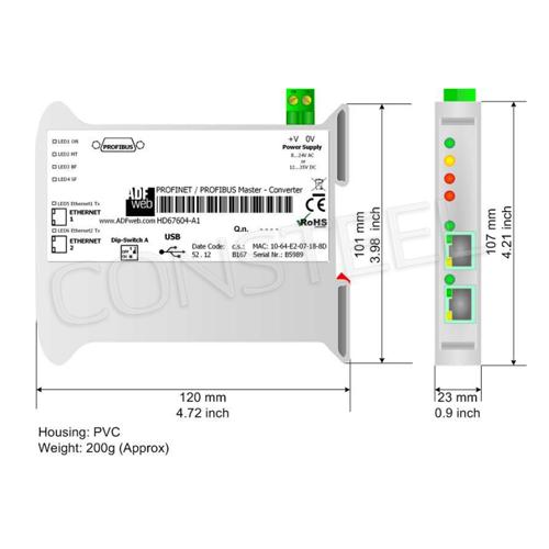 industrial profinet to profibus converter hd67604 a1 rh consteel electronics com