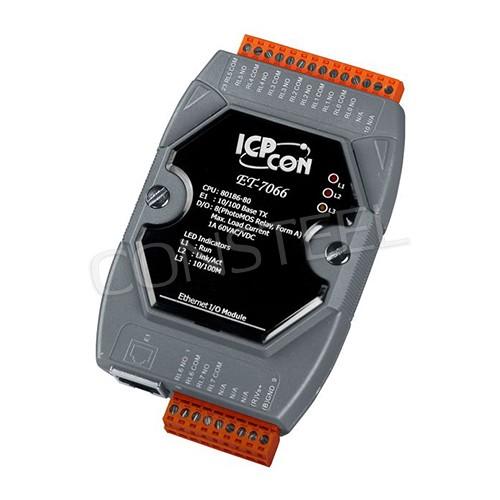 ET-7066 - Moduł Ethernet I/O z 1 portem Ethernet